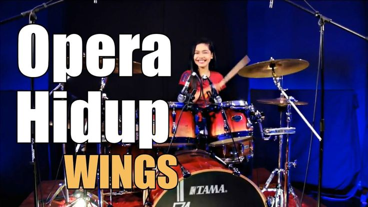 Wings - Opera Hidup Drum Cover by Nur Amira Syahira