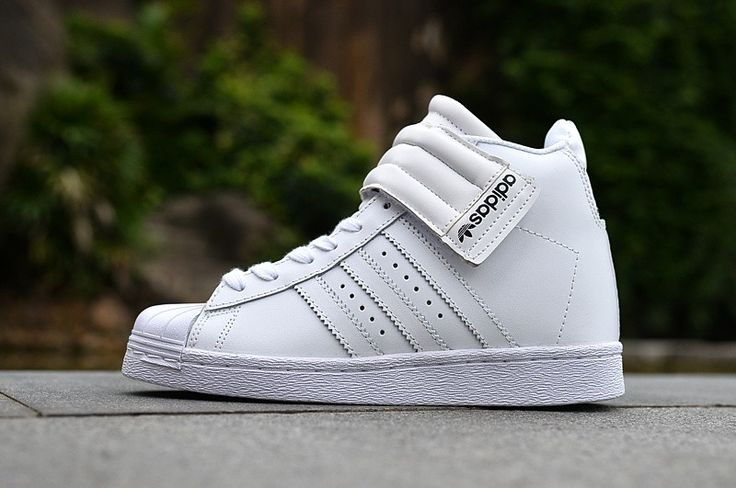 High Tops Adidas Superstar Up Taktisch Gurt W Damen Turnschuhe Weiß S81351