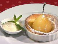 Pearl and vanilla pudding