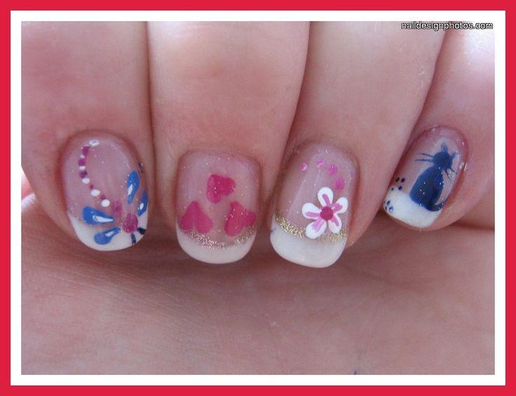 Dorable Nails Designs Videos Sketch - Nail Paint Design Ideas ...