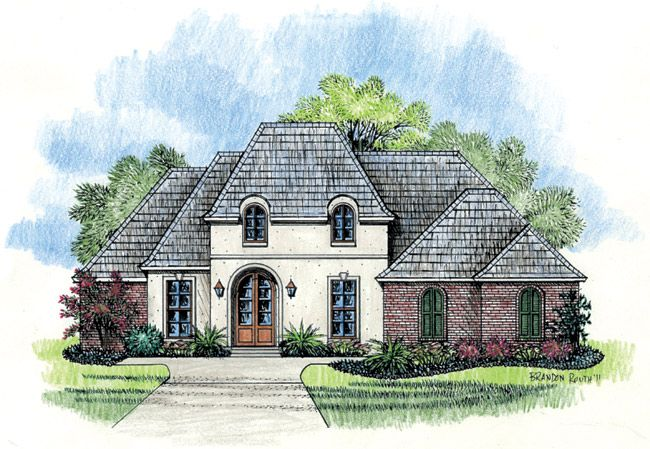 1000 images about the oak alley on pinterest french for Madden house plans