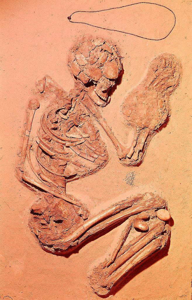 Sepoltura femminile, Chiozza di Scandiano, Periodo Neolitico, Musei Civici di Reggio