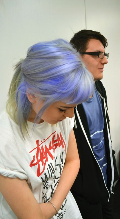dyed hair | Tumblr