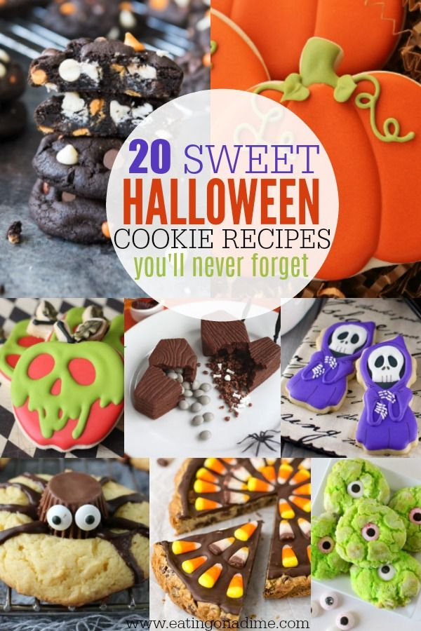 easy halloween cookie recipes for kids 20 halloween cookie recipes - Easy Halloween Cookie Ideas