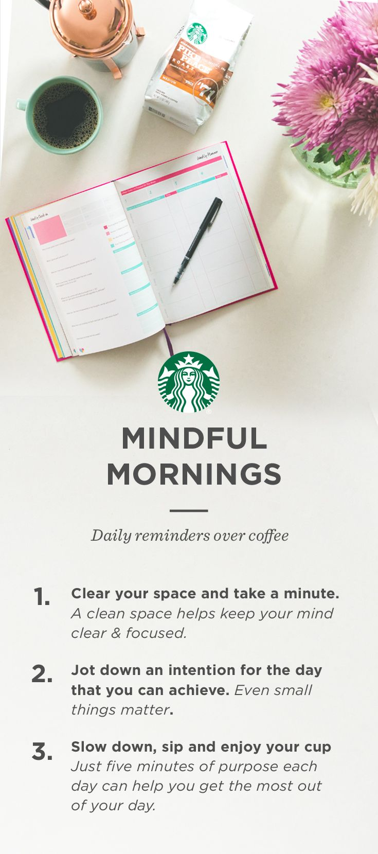 Three morning steps to maximize your day over your coffee. | Coffee ...