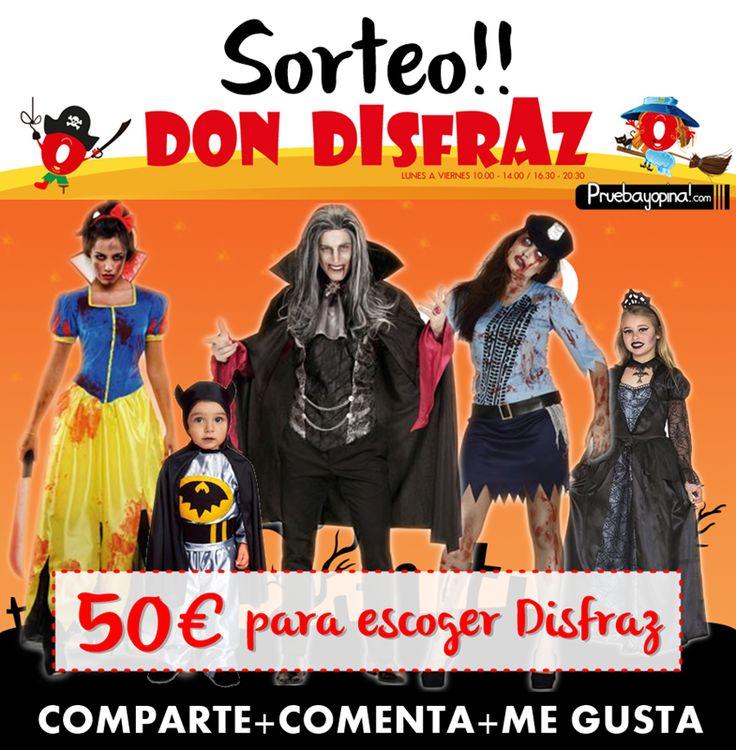 Ya está aquí Halloween 2016, por eso os enseñamos los mejoresDisfraces de Halloween e ideas de decoración para vuestra casa con Don Disfraz.¡Click Aq