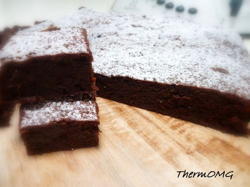 Date Brownies - Thermomix
