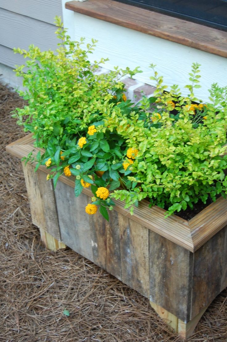 How to Make a Reclaimed Wood Planter