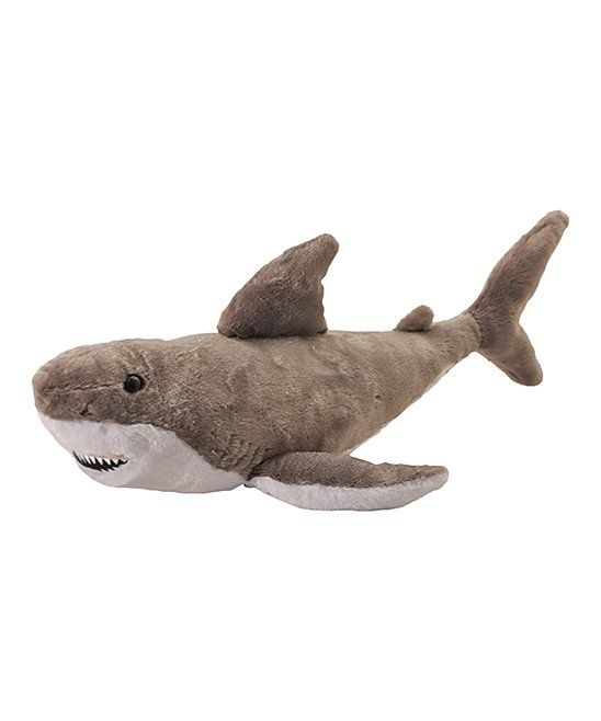 Take A Look At This Great White Shark Plush Toy Today Mason S Big