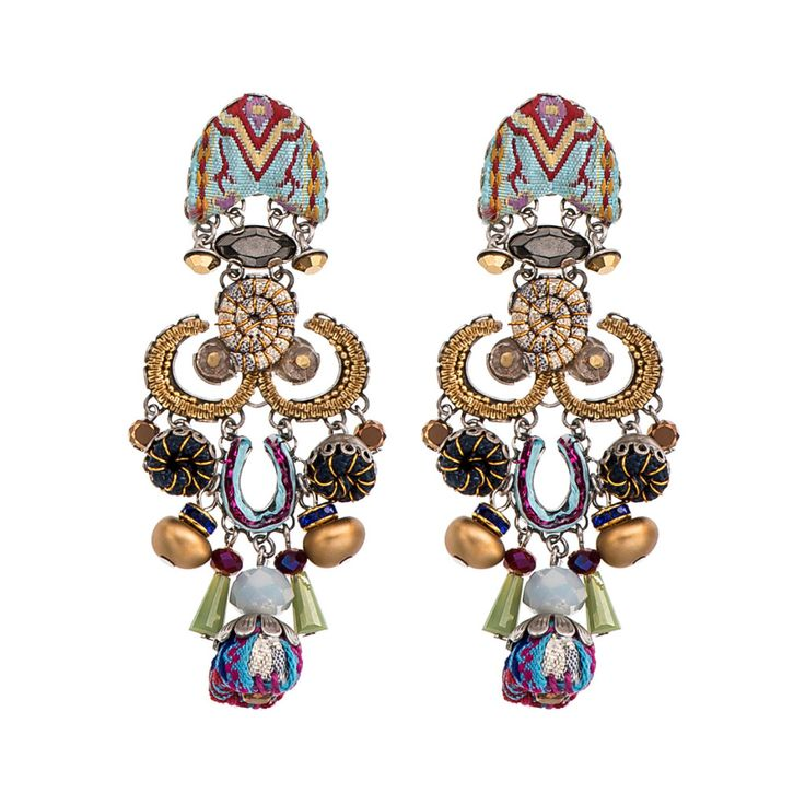 Luminosi gli orecchini di Ayala Bar    AIBIJOUX #AyalaBar #AIBIJOUX #gioiellidautore #fashionjewelry #bohostyle #bijoux