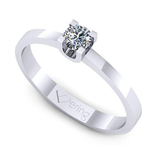 Inel logodna L118ADI cu diamante