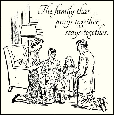 The family that prays together, stays together. | Praying ...