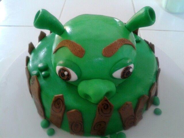 Pastel de Shrek