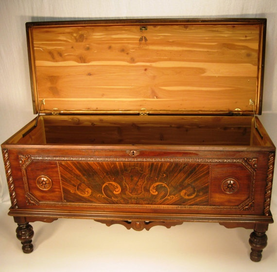 cedar chest by lane built in 25 dollar shipping by theeashop