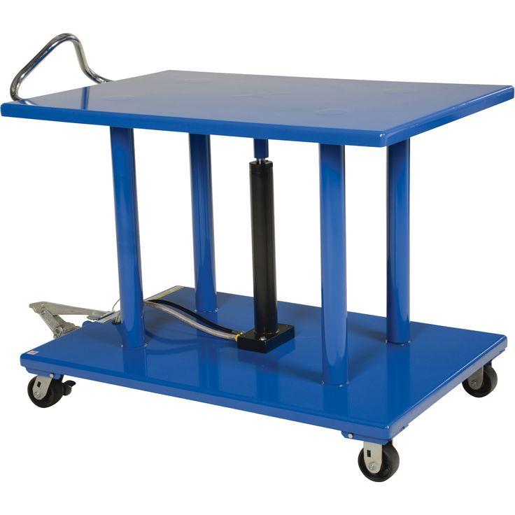 Vestil Manual Hydraulic Post Table
