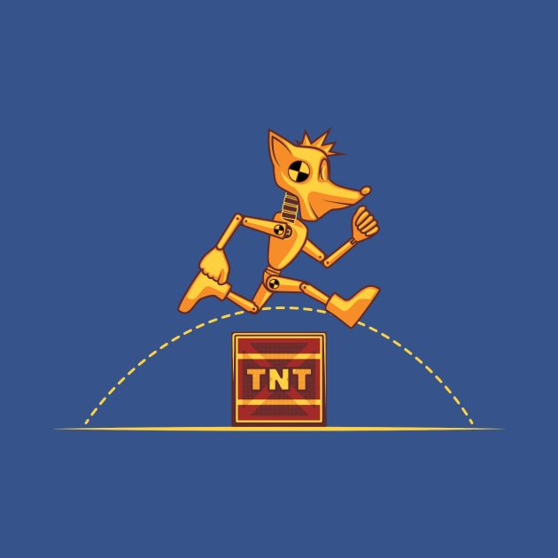 Awesome 'Crash+test' design on TeePublic!