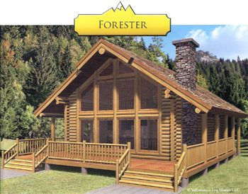 Forester swedish cope log cabin kit for sale home stuff for Kit homes alaska
