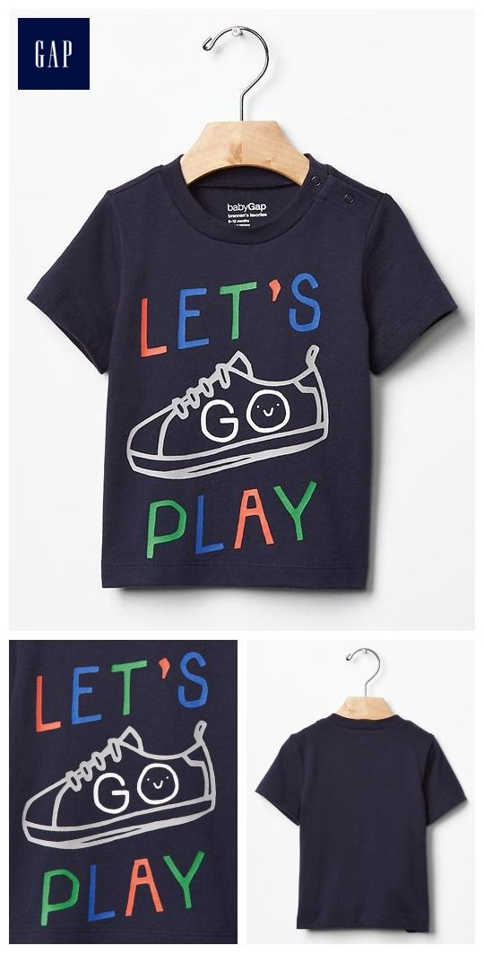 Active play graphic tee