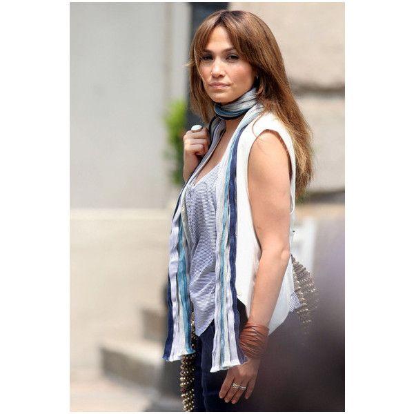 "JLO wearing rings designed by Rachel Bertoni. Jennifer Lopez Pictures - Jennifer Lopez films ""The Back-Up Plan"" - Zimbio found on Polyvore"