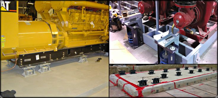 Tecoustics Ltd. works in close conjunction with a variety of OEMs to provide vibration or seismic control solution. #NoiseAndVibrationControl #SeismicEngineering http://bit.ly/tecoustic