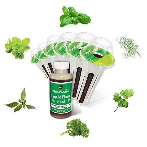 Miracle-Gro AeroGarden Gourmet Herb Seed Pod Kit (6-Pods)