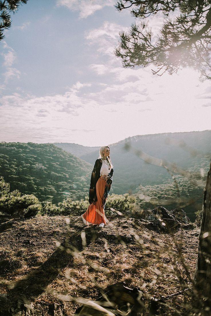 Among the pines.   Herzflimmern - by Nadine Schachinger  #herzflimmern #kerstinbrueller #photography #mountains #woods #portraitphotography #natureallight #natural #landscape #lookslikefilm