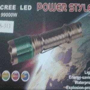 SENTER POLICE CREE LED 99000 GOLD - Pusat Grosir Product China - UNIK | HELLO KITTY | LAMPU | SENTER | DLL