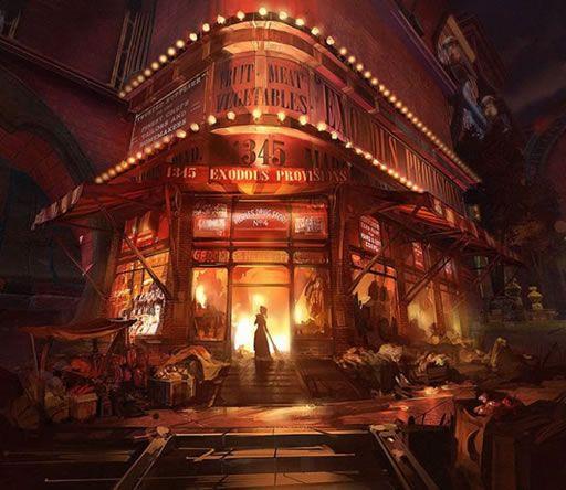 バイオショック インフィニット(BioShock Infinite)コンセプトアート集