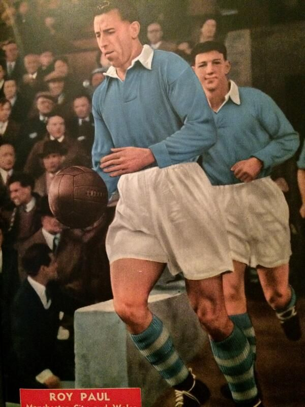 Roy Paul of Man City and Wales