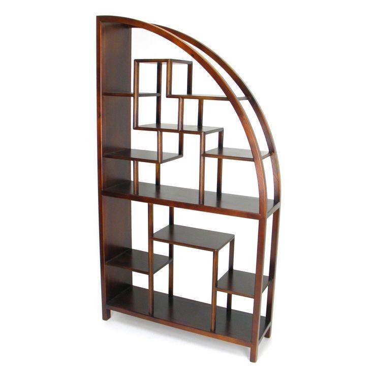 Wayborn Curved Modular Bookcase - $636 @hayneedle - 52 Best Bookcase/Bookshelves Images On Pinterest Bookcases