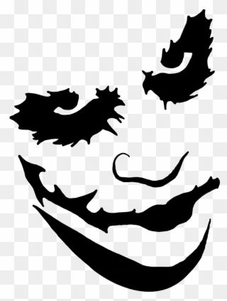 Joker Face Paint Png Transparent Stock Pumpkin Carving Templates Joker Cl Jack Skellington Pumpkin Carving Pumpkin Carving Templates Jack Skellington Pumpkin