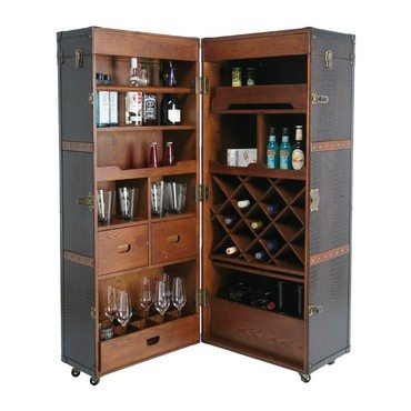 1000 id es sur le th me coffre bar sur pinterest meubles for Armoire chambre style colonial