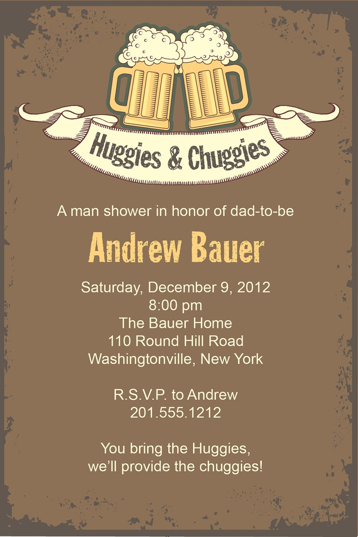 25+ best ideas about diaper party invitations on pinterest | baby, Party invitations