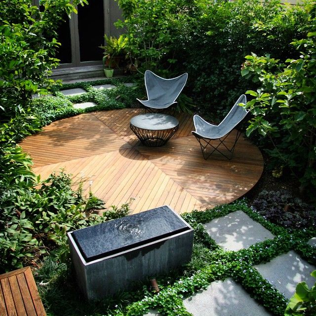 A stunning herbaceous perennial garden designed by @benscott_design blends seamlessly into a contemporary multifunctional space for entertaining, contemplation and relaxation. Up now on TOC. #linkinprofile #benscott #landscape #design #landscapedesigner #gardendesign #garden #perennials #contrast #texture #layers #contemporary #styling #butterflychair #inspiredoutdoorliving