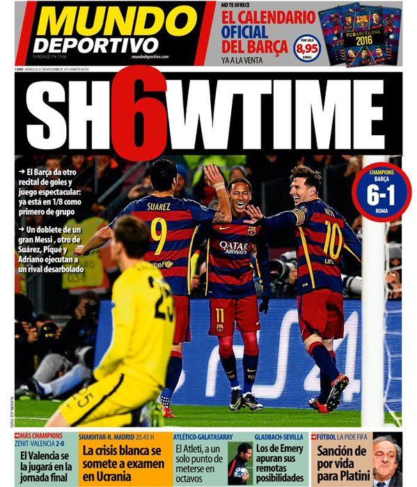 hugola4/Barcelona on Twitter Periodico deportivo, Mundo
