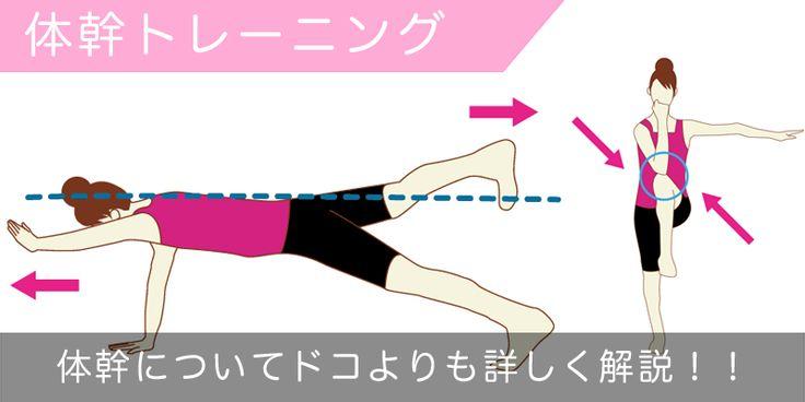 体幹トレーニングの方法や効果をどこよりも詳しく解説!   ダイエットなら美wise!