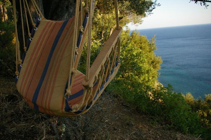 The ultimate summer reading chair! Samothraki 2013