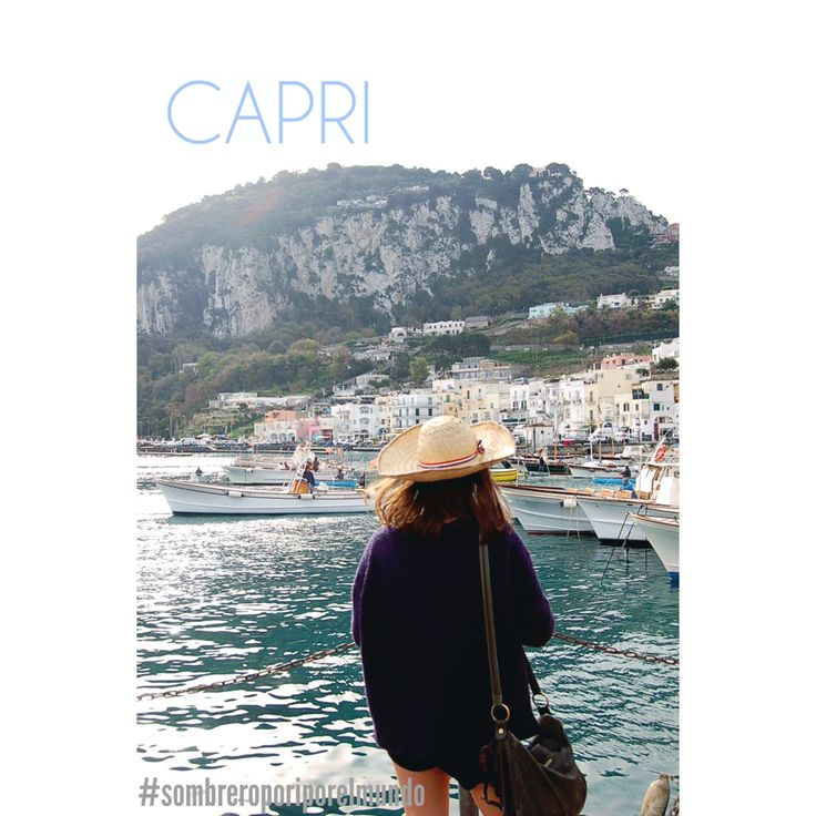 Sombrero por la isla de Italia