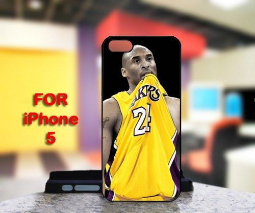 Kobe Bryant Lakers 24 For IPhone 5 Black Case Cover