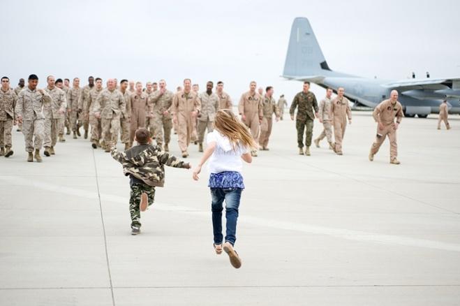 Marine Corps Homecoming » Rally Point