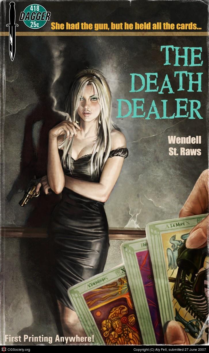 Image result for death dealer pulp cover