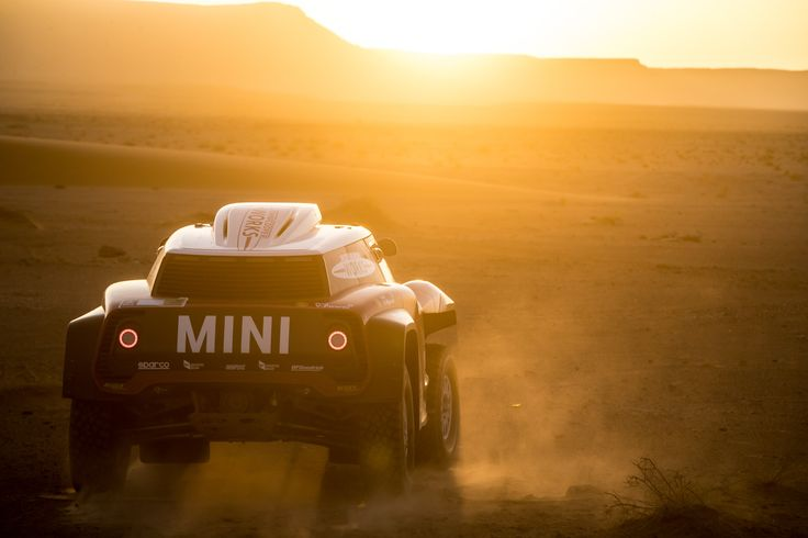 Mini and X-Raid are bringing a special rear-wheel drive buggy for Dakar Rally 2018- The Mini John Cooper Works Buggy Edition 40. #DakarRally #Motorsports #Mini #Offroading