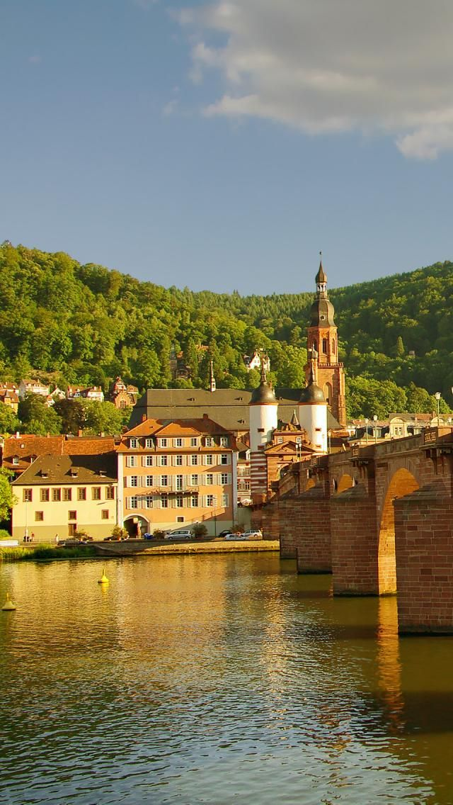 Old Bridge in Heidelberg, Baden-Wurttemberg, Germany