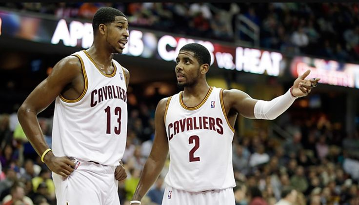 The Cleveland Cavs have traded away Kyrie Irving, whom they drafted in 2011. His draft mate, Tristan Thompson, said goodbye on Twitter.