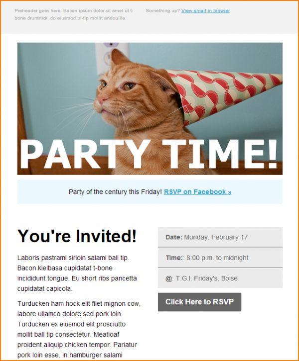 template event invitation email template send smarter