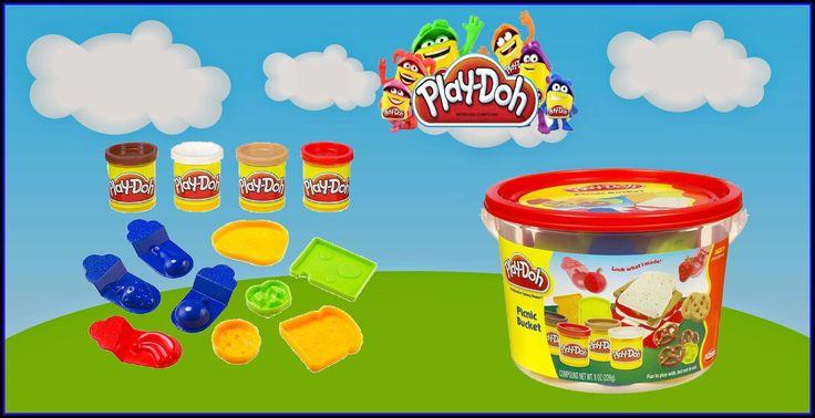 Play Doh Picnic Bucket Cubito de Picnic Panier Pique-Nique Picknick-Eime...