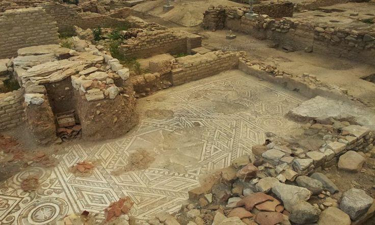 La villa romana di Patti #invasionidigitali #siciliainvasa2014 #pattitindari