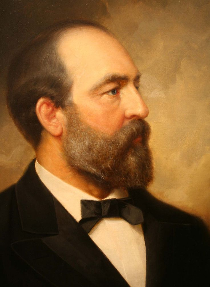 President James A. Garfield                                                                                                                                                     More