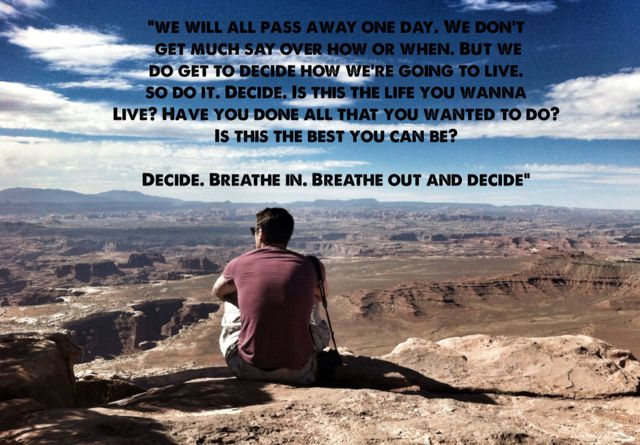 Are you living the life you want to live?  #adventure #travel #bucketlist  www.facebook.com/thebucketlistjunkie