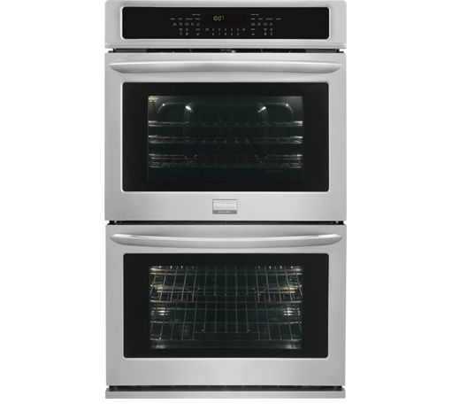 Frigidaire Gallery 30'' Double Electric Wall Oven Stainless Steel-FGET3065PF